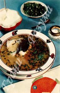 Суп рыбный с крупой (первое блюдо)