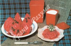 Капуста по-грузински (закуски)