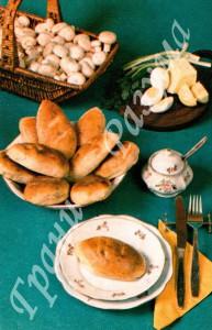 Пирожки с шампиньонами (закуски)