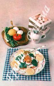 Салат из шампиньонов (закуски)