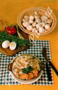 Омлет из шампиньонов (второе блюдо)