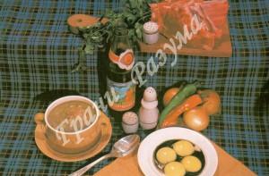Чихиртма из баранины (первое блюдо)