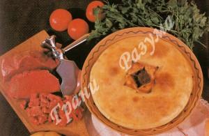 Фыдджын (пирог с мясом по-осетински)- второе блюдо