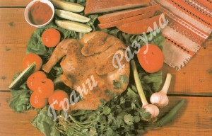 Цыпленок-тапака (второе блюдо)