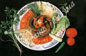 Купаты (второе блюдо)