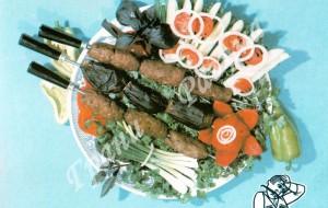 Люля-кебаб (второе блюдо)