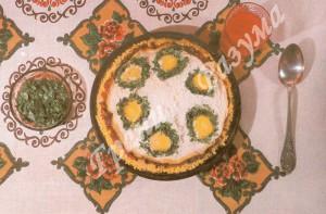 Плов шести цветов - яичный (второе блюдо)