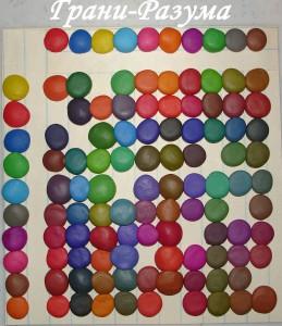 Лепка из пластилина: Урок 3 (смешивание цветов)