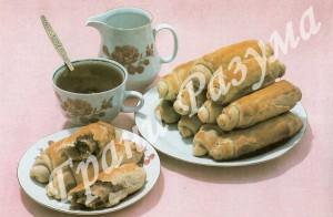 Ореховые трубочки (десерт)